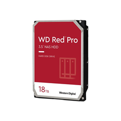 Hard disk interno Western Digital - Wd red pro nas hard drive - hdd - 18 tb - sata 6gb/s wd181kfgx