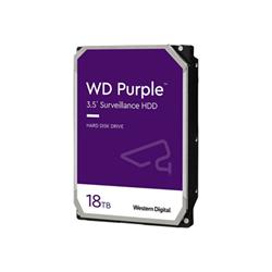 Hard disk interno Western Digital - Wd purple surveillance hard drive - hdd - 18 tb - sata 6gb/s wd180purz