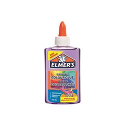 Elmers - Colla Vinilica Colorata Semitrasparente, Lavabile, per Slime - Viola 147ml - 1pz