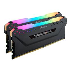 corsair memoria ram vengeance rgb pro - ddr4 - kit - 32 gb: 2 x 16 gb cmw32gx4m2d3600c18