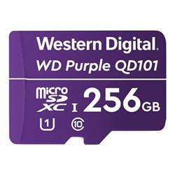 Micro SD Western Digital - Wd purple sc qd101 - scheda di memoria flash - 256 gb wdd256g1p0c