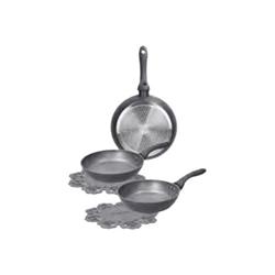Pentola TOGNANA - Cooking circle set padelle - 3 elementi wo79133arde