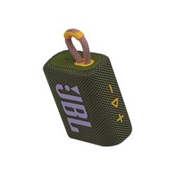 Speaker wireless JBL - Go 3 Arancione, Verde, Viola
