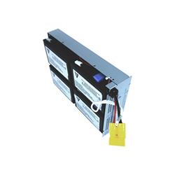 Batteria V7 - Batteria ups - piombo - 9 ah rbc24-v7-1e