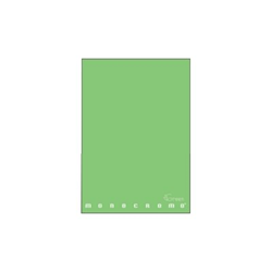 Pigna - CF10 QUADERNO MONOCROMO GREEN 5M