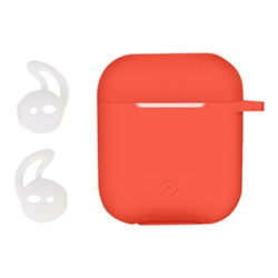 Custodia Celly - AIRPOD CASE SPORT BUDS ORANGE
