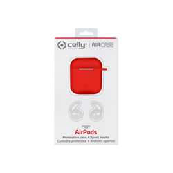 Custodia Celly - AIRPOD CASE   SPORT BUDS RED