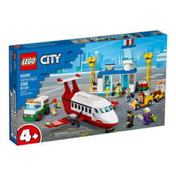 City 60261 central airport set costruzioni 60261a
