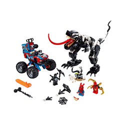 Spider-man - venomosaurus ambush - set costruzioni 76151