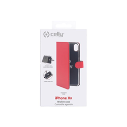 Custodia Celly - WALLY CASE IPHONE XR RED