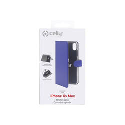 Custodia Celly - WALLY CASE IPHONE XS MAX BLUE