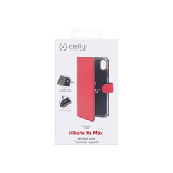 Custodia Celly - WALLY CASE IPHONE XS MAX RED