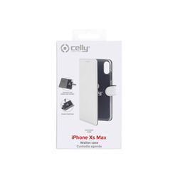 Custodia Celly - WALLY CASE IPHONE XS MAX WHITE