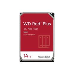 Hard disk interno Western Digital - Wd red plus nas hard drive - hdd - 14 tb - sata 6gb/s wd140efgx
