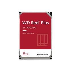 Hard disk interno Western Digital - Wd red plus nas hard drive - hdd - 8 tb - sata 6gb/s wd80efbx