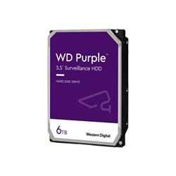 Hard disk interno Western Digital - Wd purple surveillance hard drive - hdd - 6 tb - sata 6gb/s wd62purz