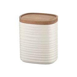 Barattolo GUZZINI - Tierra m - vaso contenitore - bianco latte - 1000 ml 181800156