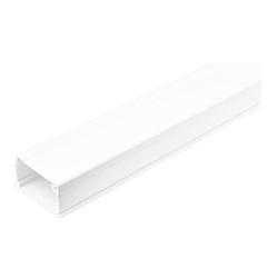 Startech - Startech.com canalina per la gestione dei cavi solida con nastro adesivo e cope