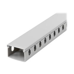 Startech - Startech.com canalina di cablaggio cavi scanalata con coperchio da 2m 38x25mm c