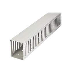 Startech - Startech.com canalina di cablaggio cavi scanalata con coperchio 2m 7.5x 10cm cb