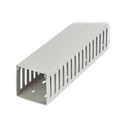 Startech - Startech.com canalina di cablaggio cavi scanalata con coperchio da 2m 75x75mm c