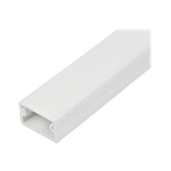 Startech - Startech.com canalina di cablaggio solida con nastro adesivo e coperchio da 1m,