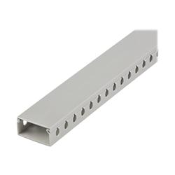 Startech - Startech.com canalina di cablaggio cavi scanalata con coperchioda 2m 50x25mm cb