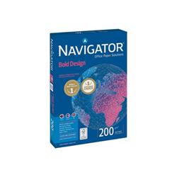 Carta Navigator - Bold design - carta comune - 150 fogli - a4 navig200/a4