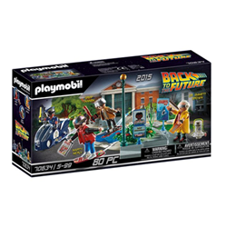 Image of Back to the future - part ii hoverboard chase - set costruzioni 70634