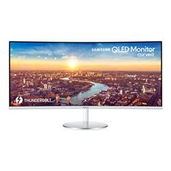 Image of Monitor LED C34j791wtr - cj79 series - monitor qled - curvato - 34'' lc34j791wtrxen
