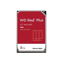 Hard disk interno Western Digital - Wd red plus nas hard drive - hdd - 6 tb - sata 6gb/s wd60efzx