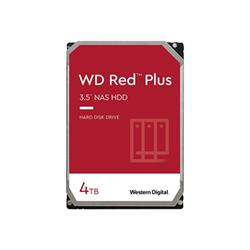 Hard disk interno Western Digital - Wd red plus nas hard drive - hdd - 4 tb - sata 6gb/s wd40efzx