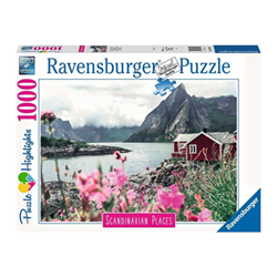Puzzle Puzzle highlights scandinavian places lofoten, norway 16740