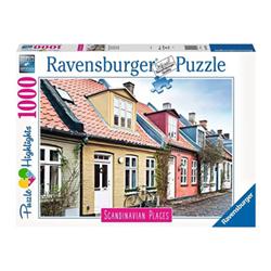 Puzzle Puzzle highlights scandinavian places aarhus, danimarca 16741