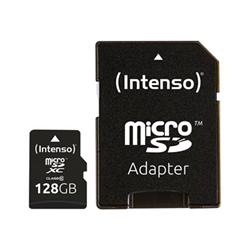 Micro SD Intenso - Scheda di memoria flash - 128 gb - microsdxc 3413491