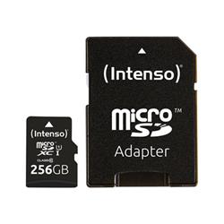 Micro SD Intenso - Premium - scheda di memoria flash - 256 gb - uhs-i microsdxc 3423492