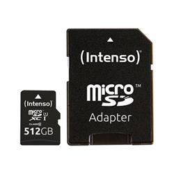 Micro SD Intenso - Premium - scheda di memoria flash - 512 gb - uhs-i microsdxc 3423493