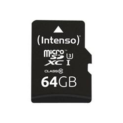 Micro SD Intenso - Professional - scheda di memoria flash - 128 gb - uhs-i microsdxc 3433491