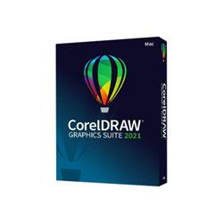 Software Corel - Coreldraw graphics suite 2021 for mac - box pack - 1 utente cdgs2021mmldpeu