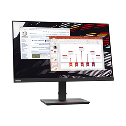 Image of Monitor LED Thinkvision s24e-20 - monitor a led - full hd (1080p) - 23.8'' 62aekat2it