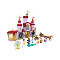 Image of 43196 - il castello di belle e della bestia - set costruzioni 43196a