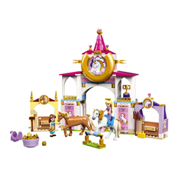 Image of 43195 - belle and rapunzel's royal stables - set costruzioni 43195a