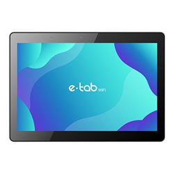 """Tablet Microtech - E-tab wifi - tablet - android 10 - 32 gb - 10.1"""" etw101gt/b"""