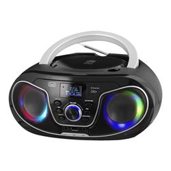 Image of Mini Hi-Fi CMP 588 Boombox Radio DAB+ USB CD - Nero
