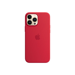 Image of Cover IPHONE 13 PRO MAX SI CASE RED