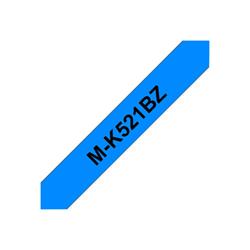 Nastro Brother - M-k521bz - 1 pezzi - rotolo (0,9 cm x 8 m) - nastro stampante mk521bz