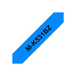 Nastro Brother - M-k531bz - nastro non laminato - 1 cassetta(e) - rotolo (1,2 cm x 8 m) mk531bz