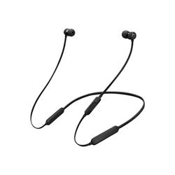 Beats X - Écouteurs avec micro - intra-auriculaire - montage sur l'oreille - sans fil - Bluetooth - isolation acoustique - noir - pour 12.9-inch iPad Pro; 9.7-inch iPad Pro; iPad mini 2; 4; iPhone 6s, 7, SE