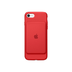 custodia silicone apple iphone 7 rossa