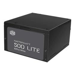 Alimentatore PC Cooler Master - Masterwatt lite 500 - alimentazione - 500 watt mpx-5001-acabw-es